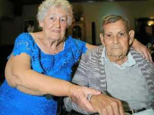 Loved up couple looks back on 60 shining years together