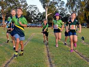 Young athletes ready to race