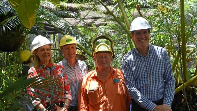 FACELIFT:  $400,000 announcement for botanic garden shade house.