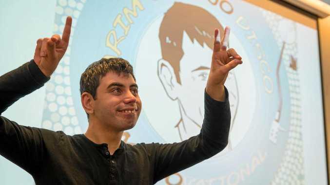LEADING MAN: Abdul-Karim Bouchafaa, the star of Karim's Mojo Disco.