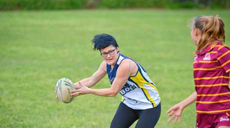 Local touch football players are excited about the up coming training day with the Queensland woman's touch team.Chelsea Baker.Photo Mike Richards / The Observer