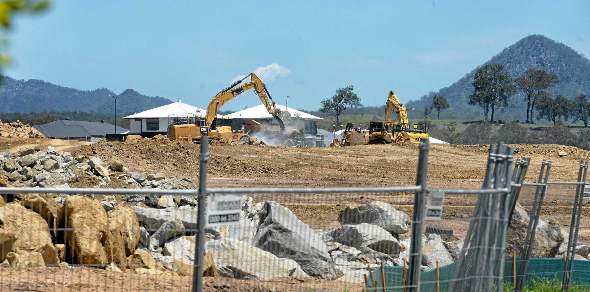 Development at South Ripley.