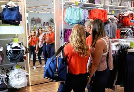 Rockwear has opened in Orion Shopping Centre. Team member Rachel Witteman, team member Debbie De Raad, and store manager Haley Krstevski.