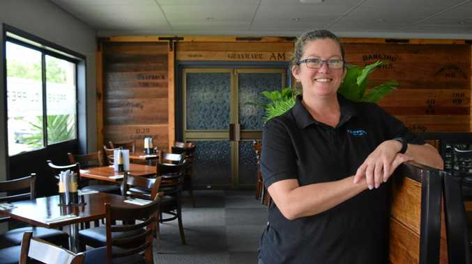 CHANGING PLANS: Trish Roberts and her husband Justin are selling Clippers Bar & Grill and Clippers Conference Centre.