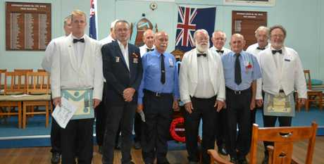 Gayndah Masonic Lodge acknowledged those who fought in World War 1 Last night with a touching ceremony.