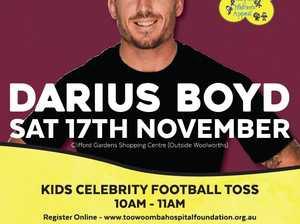 Darius Boyd - Kids Football Toss & Meet and Greet