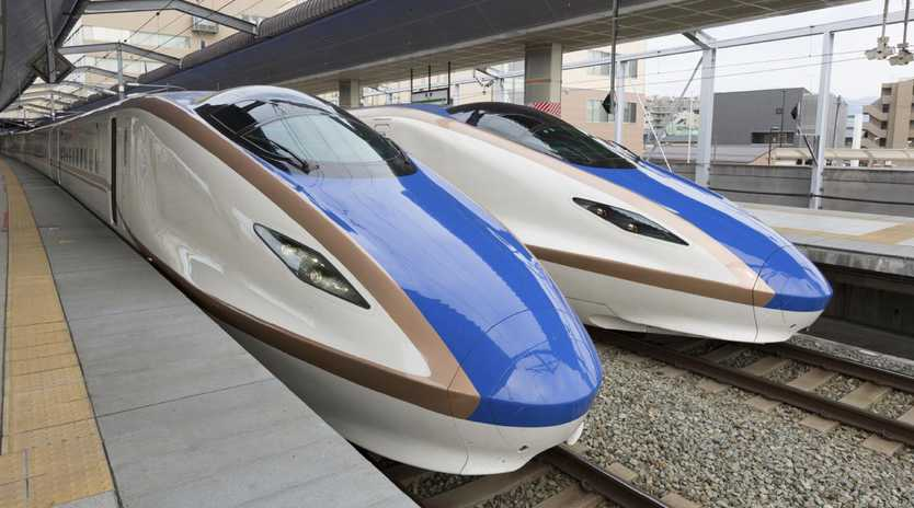Ms Berejiklian saw the potential for bullet trains after a visit to Japan in August.