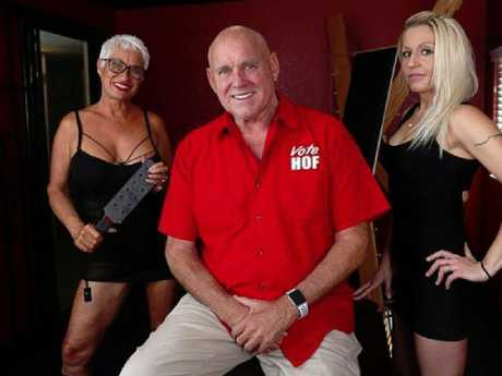 Dennis Hof was running for a state assembly seat in Nevada. Picture: Supplied