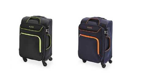 With a $39.99 price tag, the Skylite 56cm soft-case luggage is even better value than the Kmart equivalent.