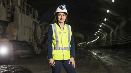 Premier Gladys Berejiklian said bullet trains connecting Sydney to regional NSW could be a reality within 50 years. Picture: Dylan Robinson