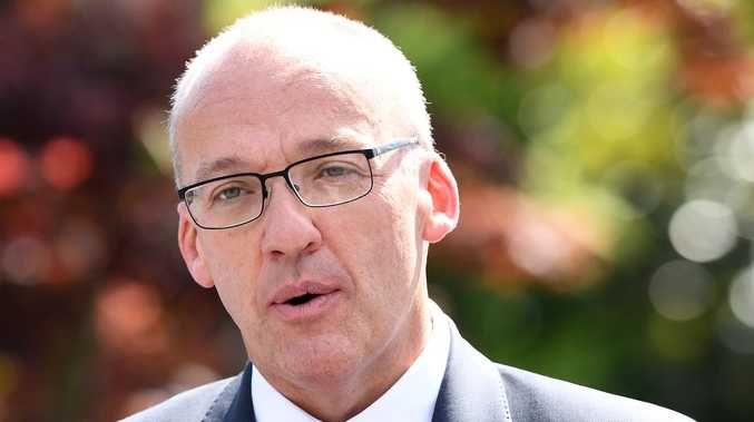 Pressure is mounting on NSW Opposition Leader Luke Foley to quit, after an ABC journalist accused him of putting his hand in her underpants after a Christmas party. Picture: AAP