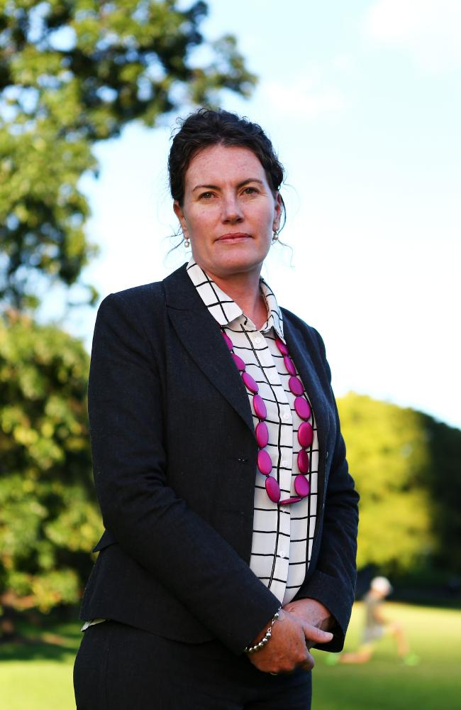 "Trish Doyle has called for a ""significant cultural shift"" in society so women can feel safe making a complaint. Picture: Tim Hunter"