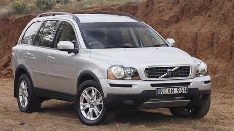 The Volvo XC90 adds a bit of class to the competition.
