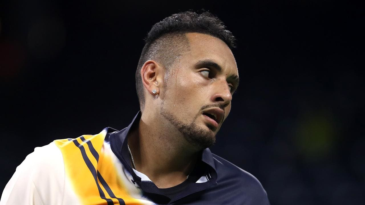Nick Kyrgios is taking steps to ensure his mental health is taken care of.