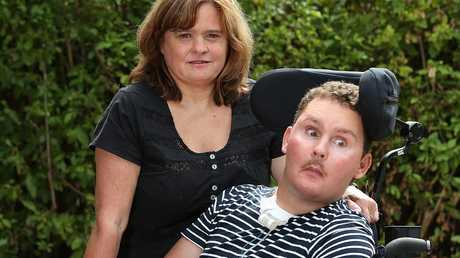 Sam fought tirelessly for eight years with the help of his mum Katie.