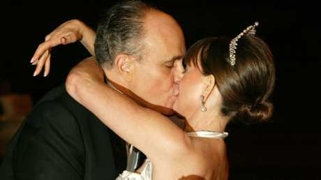 Mr Giuliani formed a close friendship with Judith Nathan while he was still married to his second wife. Picture: AP