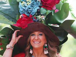 Jen Hawkins stuns in Oaks Day dress
