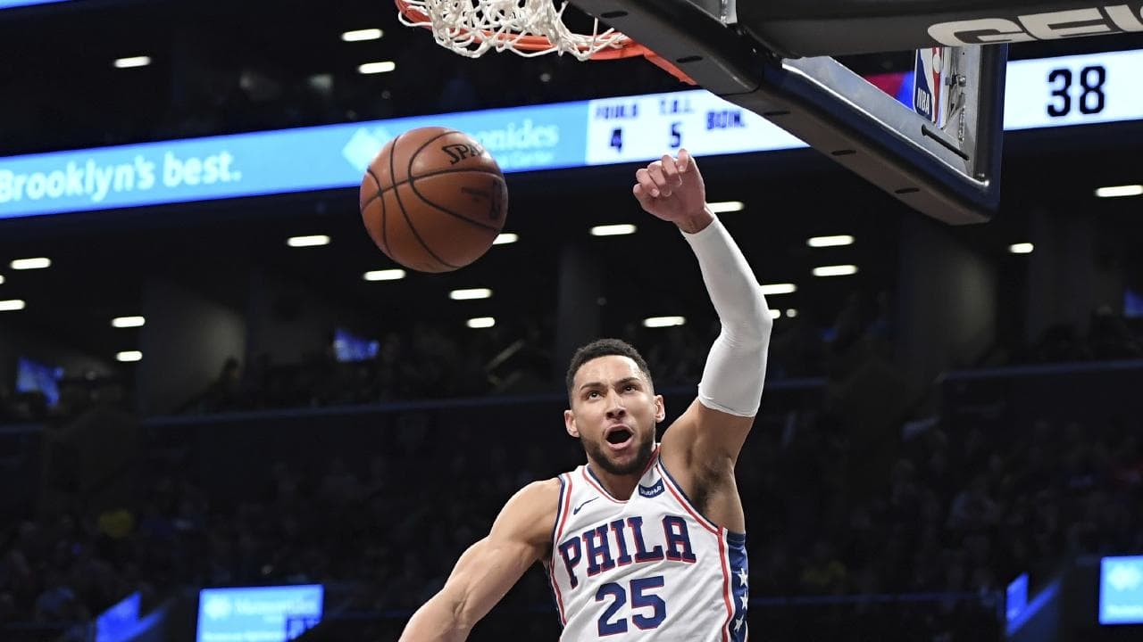 Ben Simmons has found his magic touch again.  Picture: AP