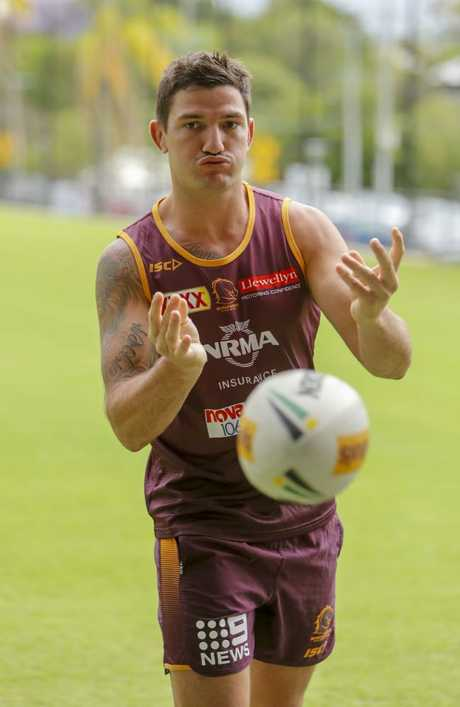 Gillett has spent time under incoming coach Anthony Seibold. (AAP Image/Glenn Hunt)
