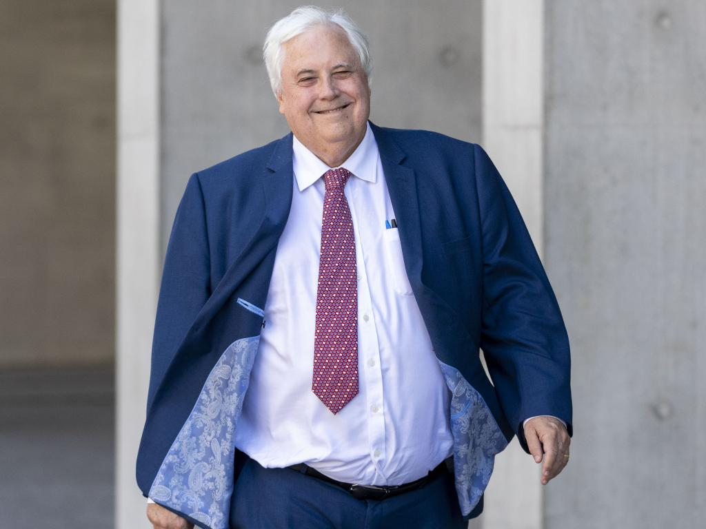 Clive Palmer outside court recently. Picture: Glenn Hunt/AAP