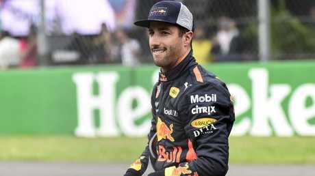 Daniel Ricciardo has had an unhappy end to his time at Red Bull.