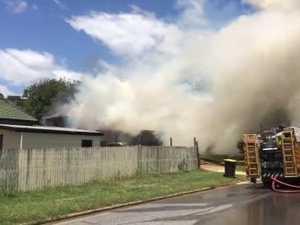 Gladstone Brunke Street House Fire