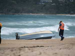 A man has died after a boat capsized off the Coffs Coast