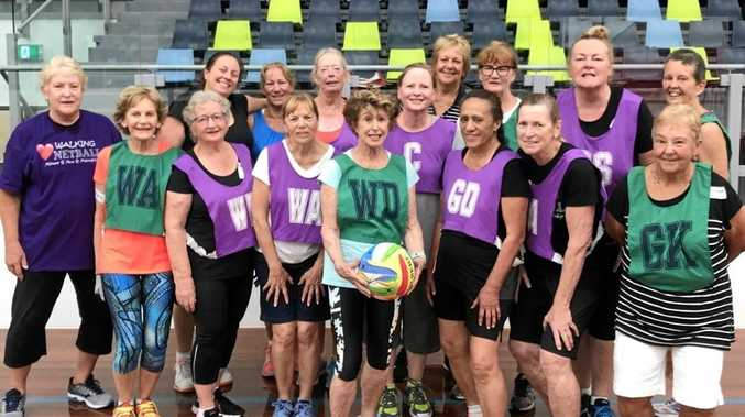 SENIOR SPORT: Over-50s and others seeking a slower pace are discovering the fun and fitness of walking netball.