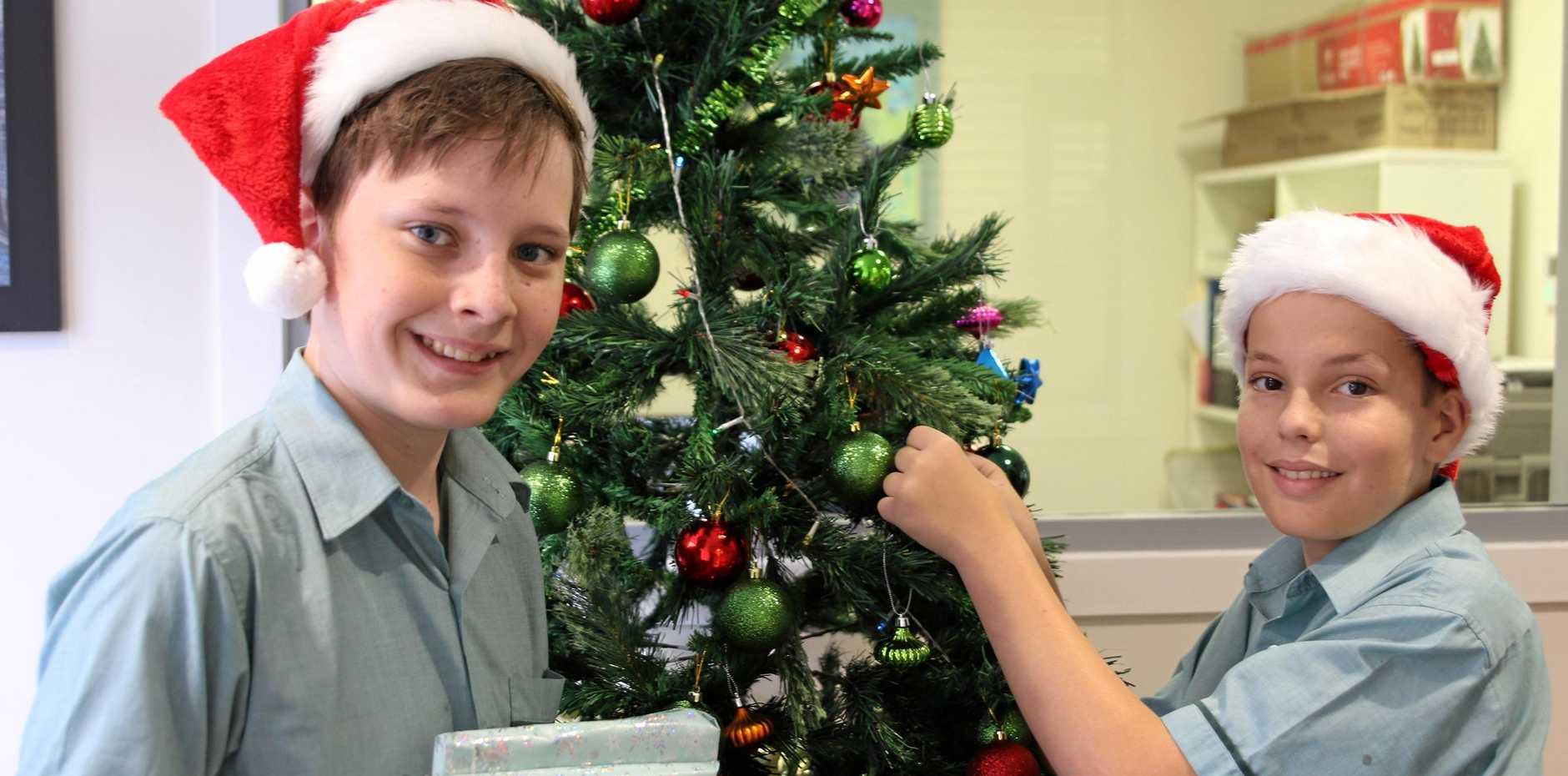 The Joys Of Christmas.St Brendan S Students Sharing The Joys Of Christmas