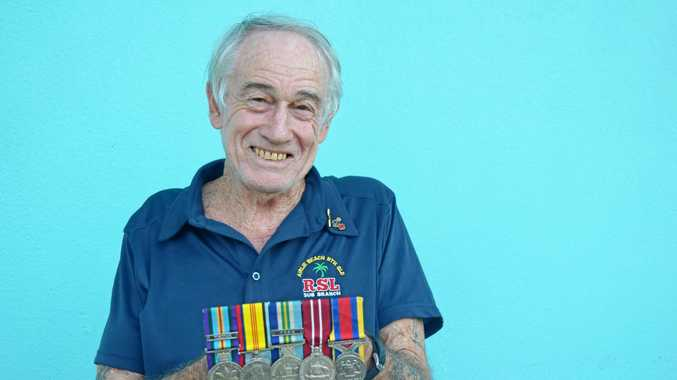 VETERAN: Cannonvale's Ken Paterson served in the Vietnam War and Malayan Emergency.