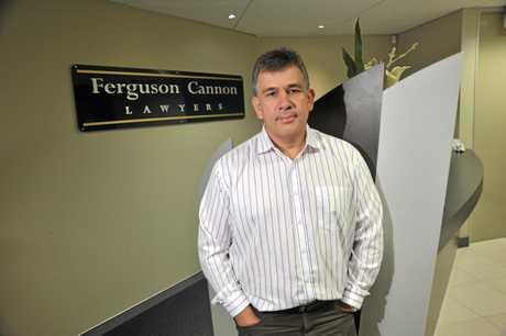 Managing Director of Ferguson Cannon Lawyers, Glenn Ferguson.