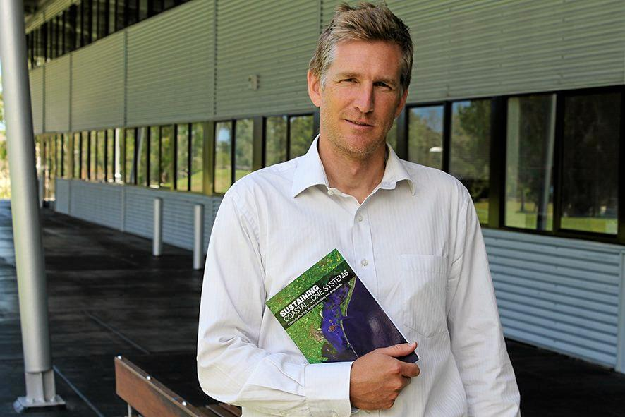 Director of USC's Sustainability Research Centre Professor Tim Smith. Photo Contributed