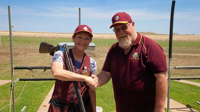 Pauline Hanson commended clay target club members on their responsible use of firearms.