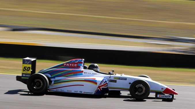 Ipswich racer Ardie Jonic on his latest Australian Formula 4 mission.