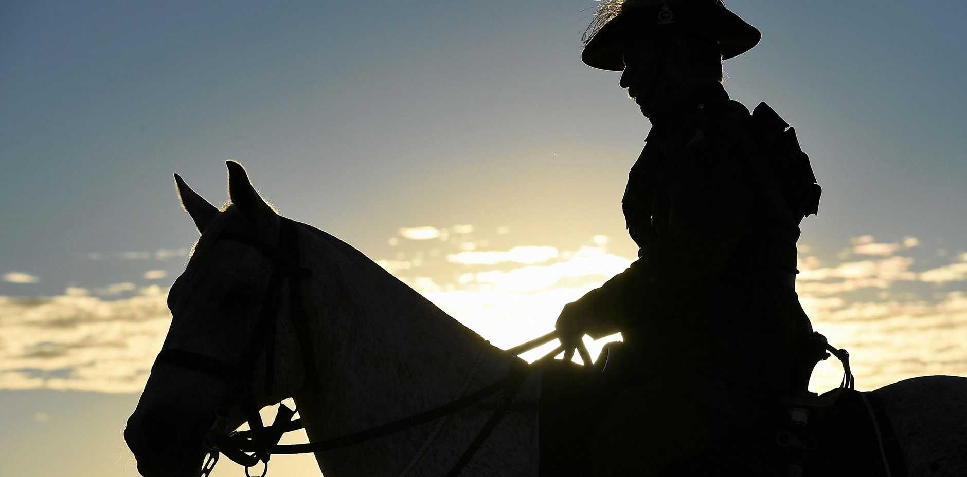 The charge of the Australian Light Horse at Beersheba  on October 31, 1917 is recognised as the last great cavalry charge.