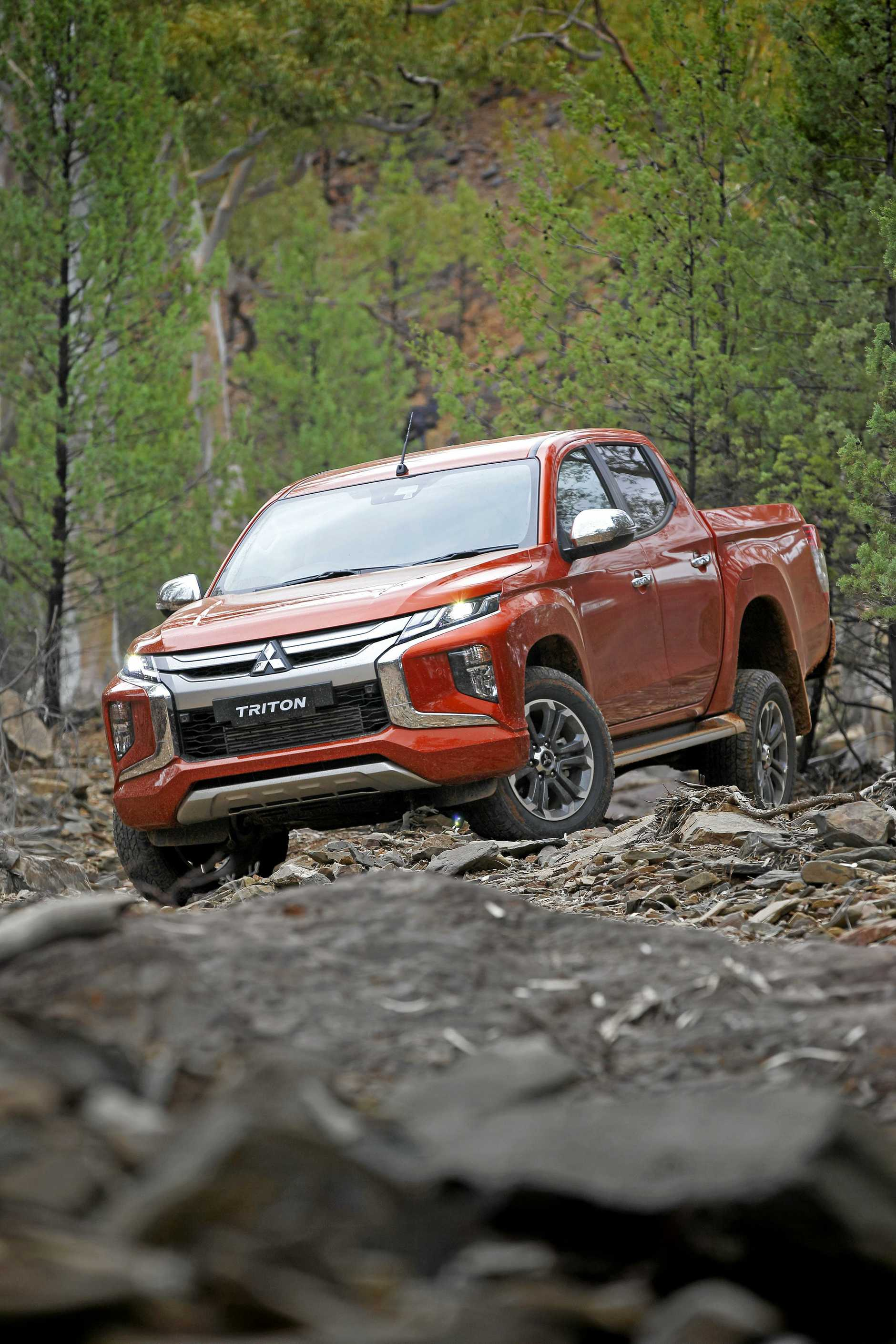 Arriving in Australia during January, the new Mitsubishi Triton will have tougher looks and improved safety kit.