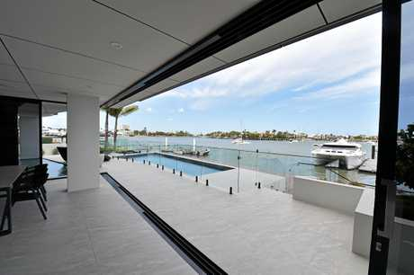 A block of four luxury units have just broke record prices in Mooloolaba. They are on the site of Fred Eager's iconic Pink House. Which sold for $3.8m a few years ago.