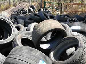 Department takes action on illegal tyre dump: letter