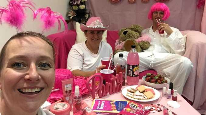 NIGHT IN: Cancer Council fundraising coordinator Zenta Martin-Szpyt at her Girls Night In event.