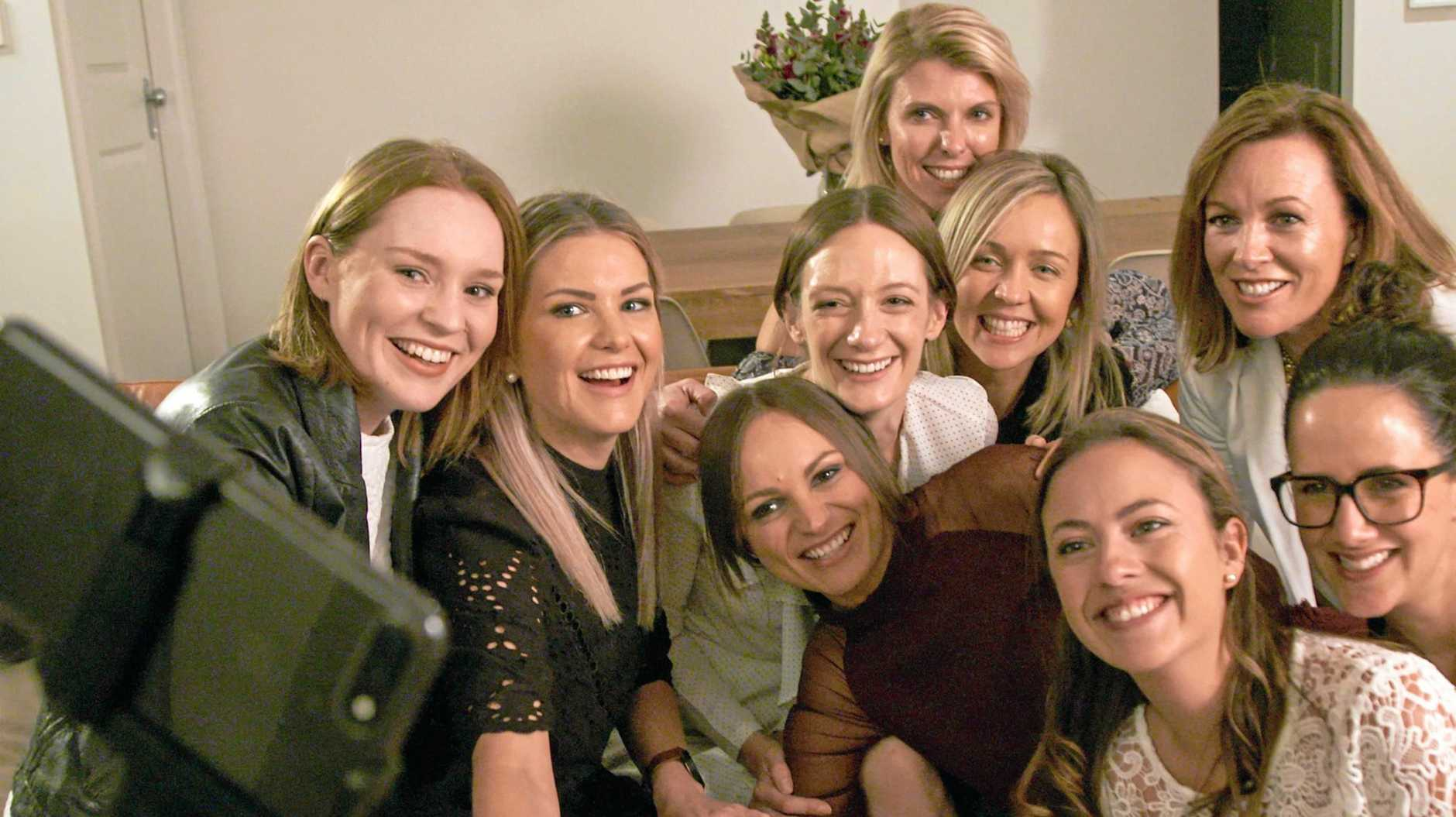 Girls Night In events raise funds and awareness of women's cancer.