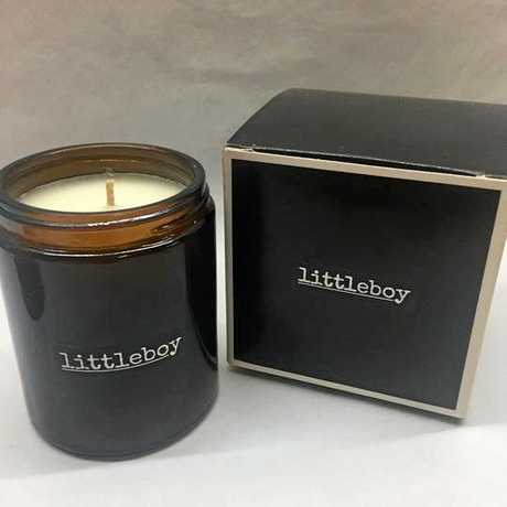 The finished product of Littleboy candles. Each candle is hand made and hand poured individually.