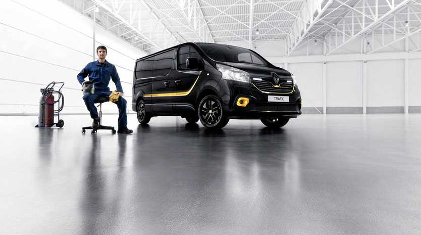 The Renault Trafic will be rebadged as a Mitsubishi.