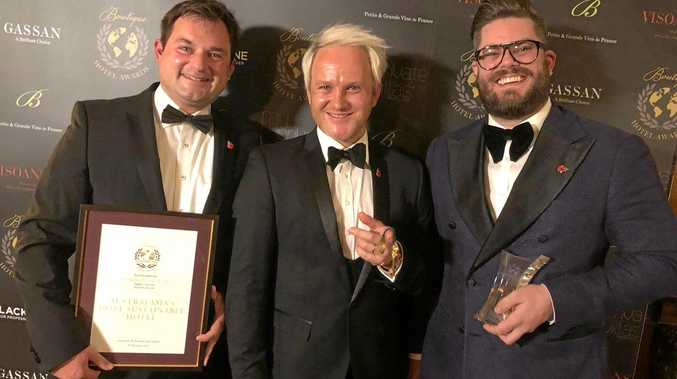 Australasia's Most Sustainable Hotel Award was announced in London last night and it's coming home to Central Queensland
