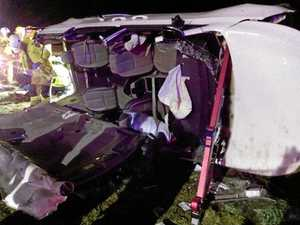 SHOCKING SCENE: Witness recalls car rollover
