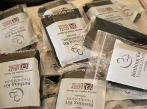 Zonta Club members, students assemble 1000 birthing kits