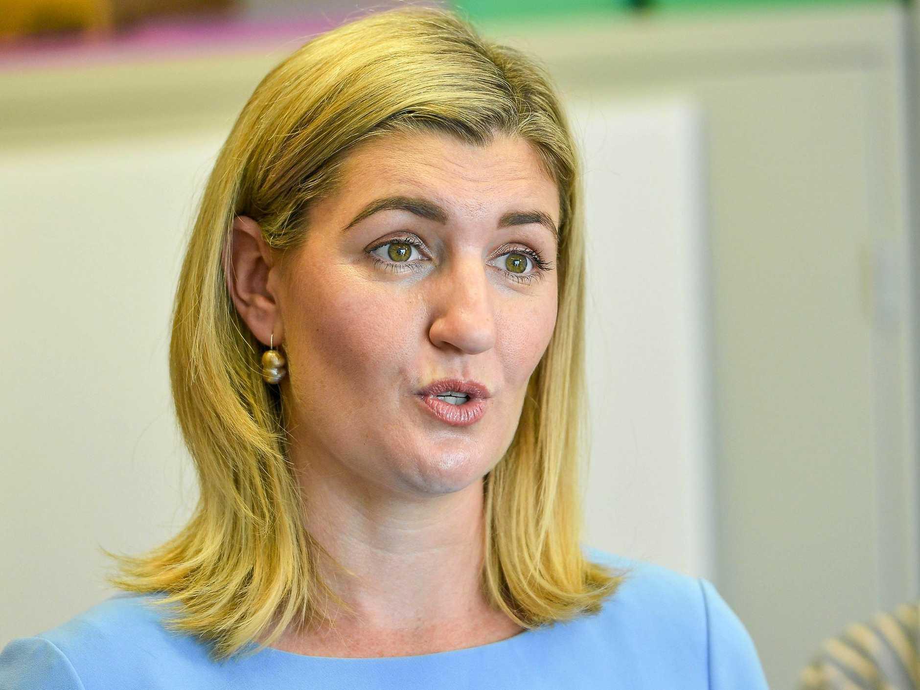 Minister Shannon Fentiman.