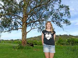 Kandanga girl, 12, saves baby koala