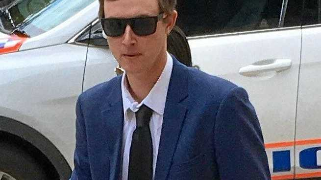 GUILTY: Jarrod Gavan Lawlor arrives at Ipswich Courthouse on Friday, November 9, 2018.