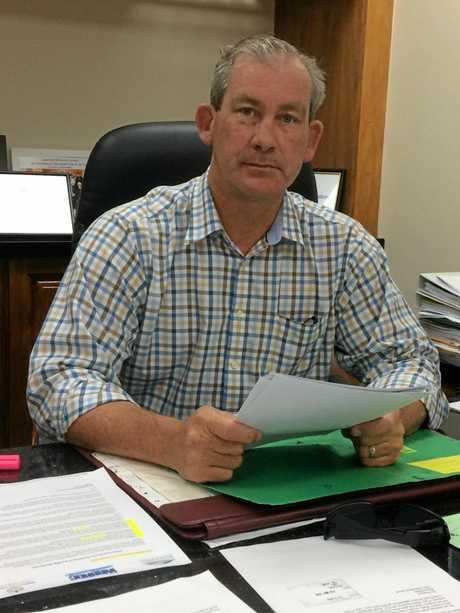 Gympie Regional Council mayor Mick Curran