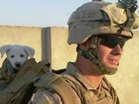 Ian Long reportedly served in Afghanistan. Source:Supplied